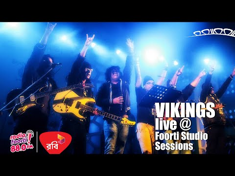 Robi Presents Foorti Studio Sessions with VIKINGS