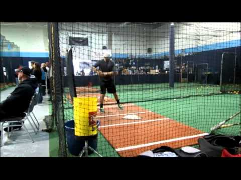 Colton Monk Hitting - Vernon College