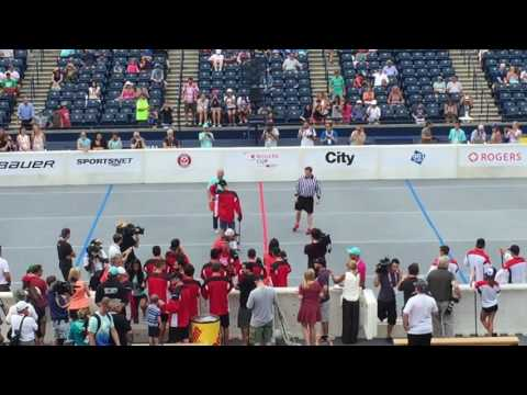 Novak Djokovic ball hockey shootout at 2016 Rogers Cup