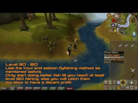 RuneScape – F2P Fishing Guide (1-99) – 2012