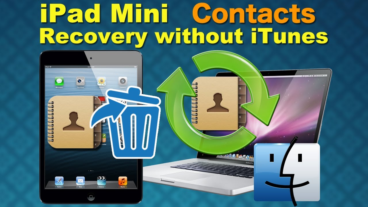 how to fix a disabled ipad mini without itunes