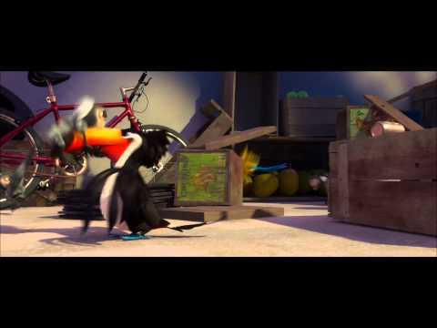 Rio Movie Clip (birds Vs. Monkey) video