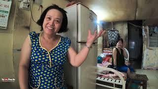 Ông lão mù bán vé số nuôi vợ bỗng dưng bị té ngã ngất xỉu, Sài Gòn cô độc quá vậy | PHONG BỤI