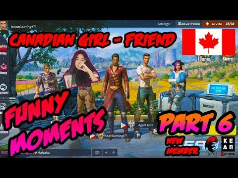 "Rules Of Survival PH - Funny Moments ""Canadia Girl-friend"" Part 6"