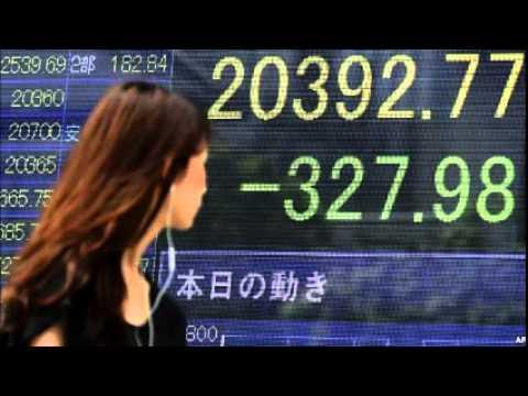 Asian Stocks Plummet on Weak Chinese Manufacturing Data