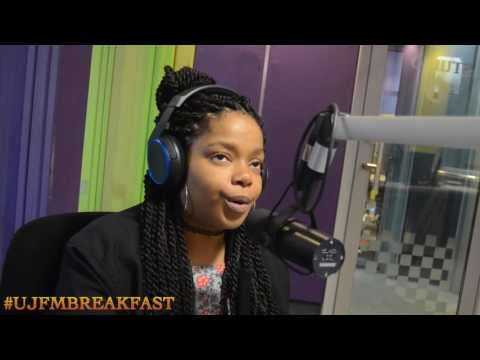Shekhinah Interviewed on UJFM Breakfast by AB Dacosta