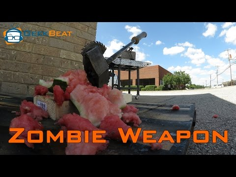 How to Build the Ultimate Zombie Weapon! (4K!)