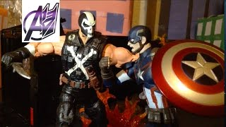 Captain America Civil War [Stop Motion Film] (Prelude) Captain America vs Crossbones