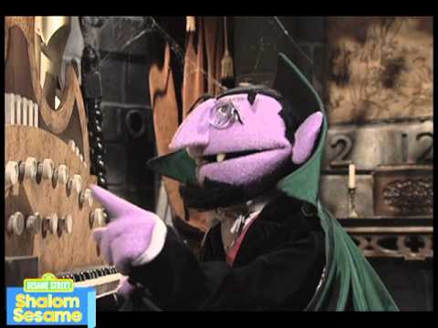 Shalom Sesame: The Count's Number of the Day: Chamesh