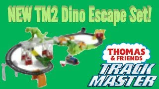 NEW Thomas and Friends Trackmaster 2 Dino Escape Set!