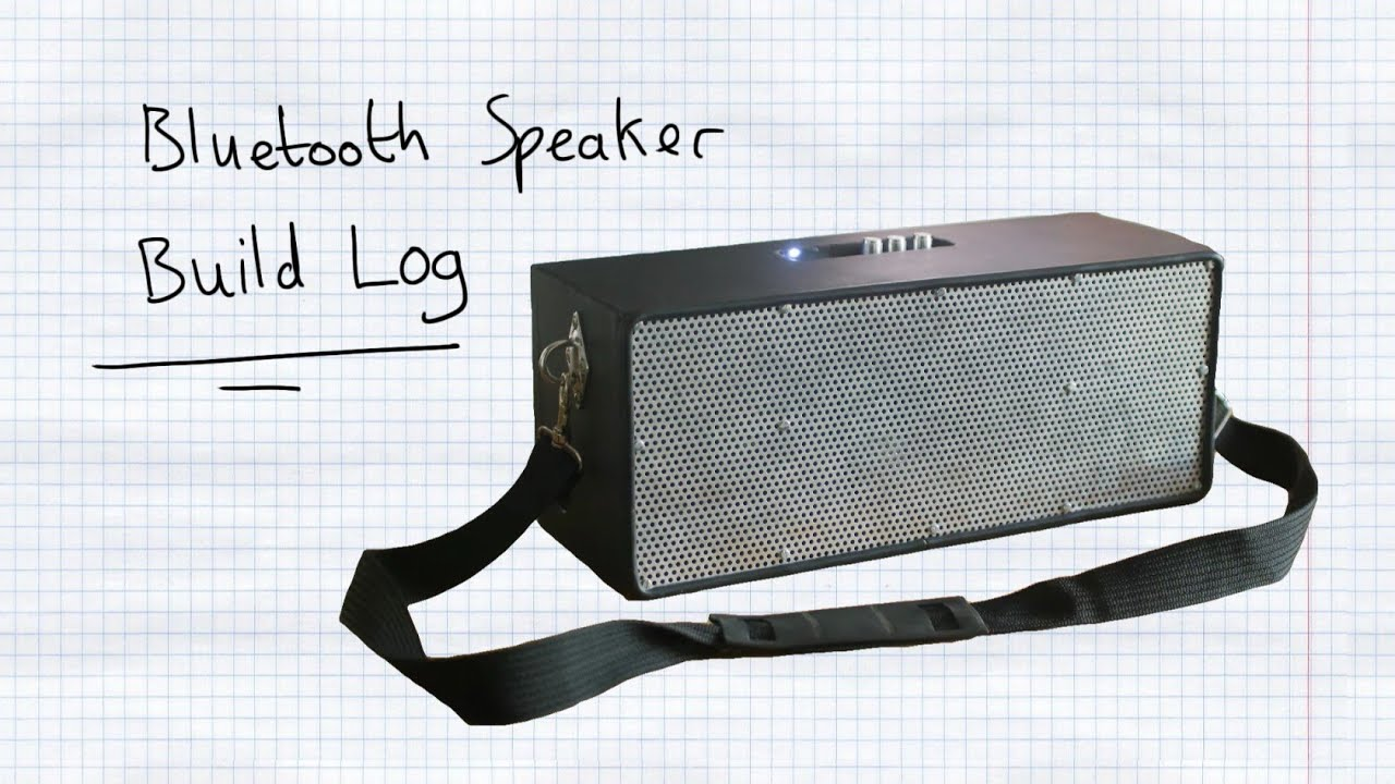Homemade Bluetooth    Boombox     Build Log  YouTube
