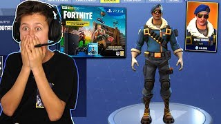 SURPRISING MY LITTLE BROTHER WITH NEW FORTNITE PS4 BUNDLE & MOST RARE 'ROYALE BOMBER' SKIN!