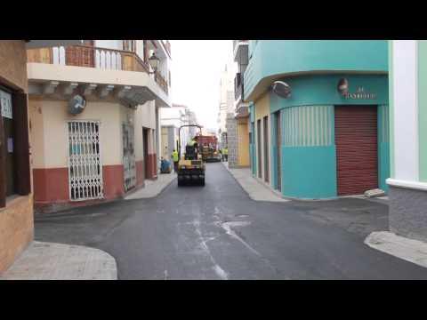 Asfaltado y mejora calles La Vera, de Arriba y Abajo en Guía casco