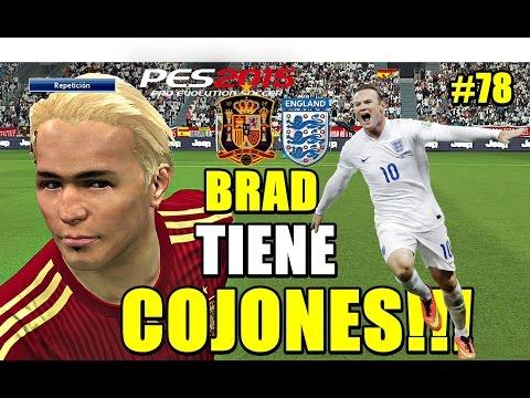 PES 2015 Become a Legend   SPAIN - ENGLAND [ FINAL EUROCOPA 2020!!] BRUTAL!!!!!