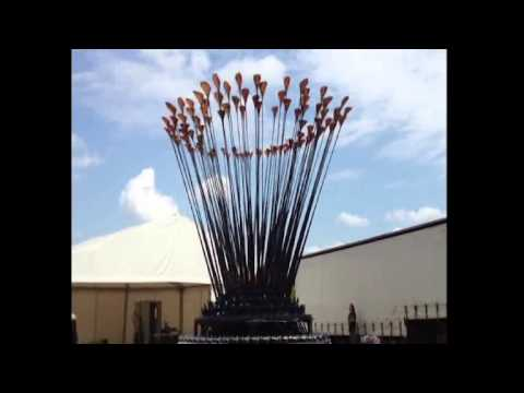 Olympic 2012 cauldron (Heatherwick Studio)