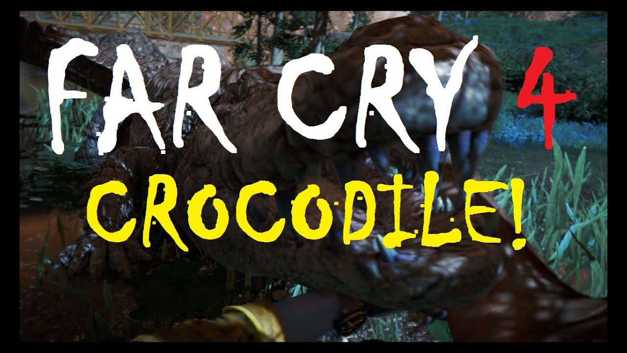 Far Cry 4 Crocodile Surprise Attack! - YouTube