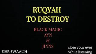 Powerful Ruqyah to destroy black magic | Jinn conditions and contracts