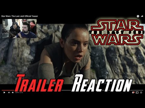 Star Wars The Last Jedi Angry Trailer Reaction