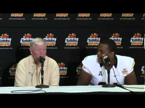 Justin McCray Interviews Coach George O'Leary