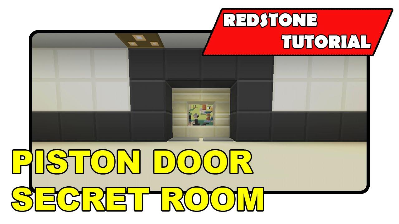 Piston Door Piston Door Secret Room