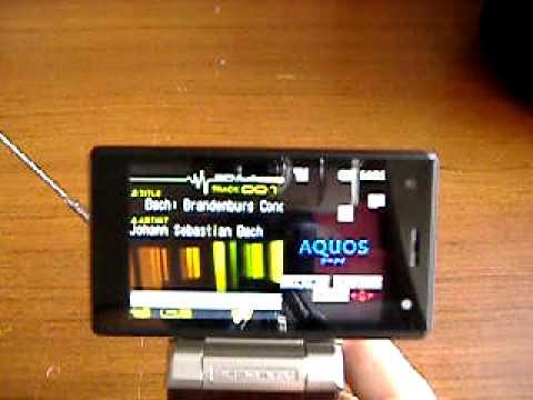 SHARP SH903iTV NTT DOCOMO FOMA MOBILE PHONE w/ TV 2.0 MEGA CAMERA