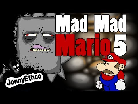 Mad Mad Mario 5:  Animated Mario Cartoon Parody By Jonnyethco video