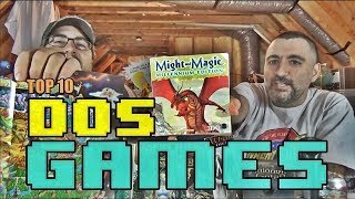 (TOP 10) DOS GAMES | The ATTIC DWELLERS