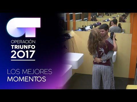 Amaia y Alfred se dan las buenas noches   LOS MEJORES MOMENTOS   OT 2017