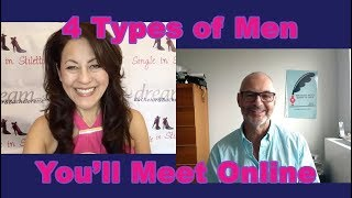 4 Types of Men You'll Meet Online - Dating Advice for Women