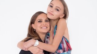 Natalie Portman and Lily-Rose Depp in Planetarium TIFF