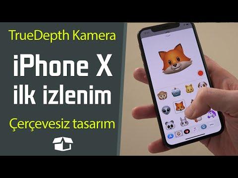 iPhone X ilk değerlendirme | TrueDepth Kamera çok eğlenceli