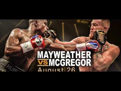 Mayweather vs Mcgregor Best Power Punches