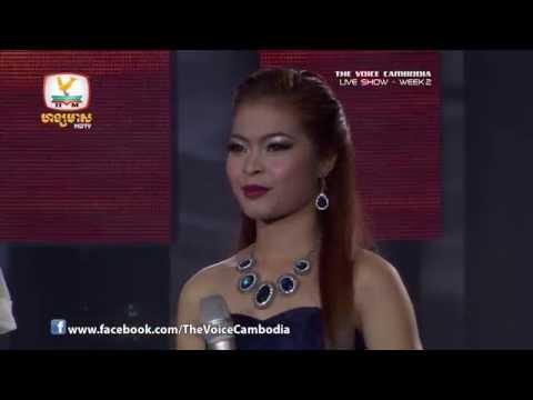 The Voice Cambodia - Live Show 2 - Ber Yeung Klay Jea Neak Dortey - Chamreurn Sopheak
