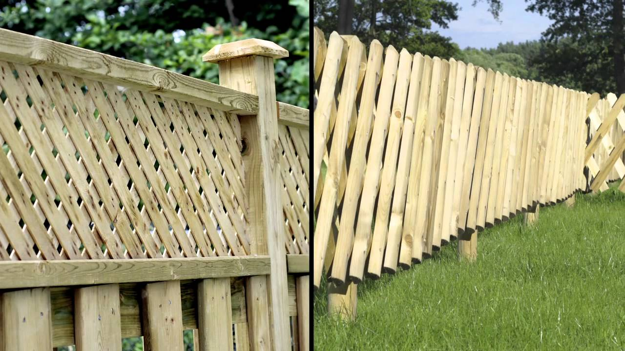 Xyladecor clotures lasure bois de jardin spray youtube - Clotures de jardin en bois ...