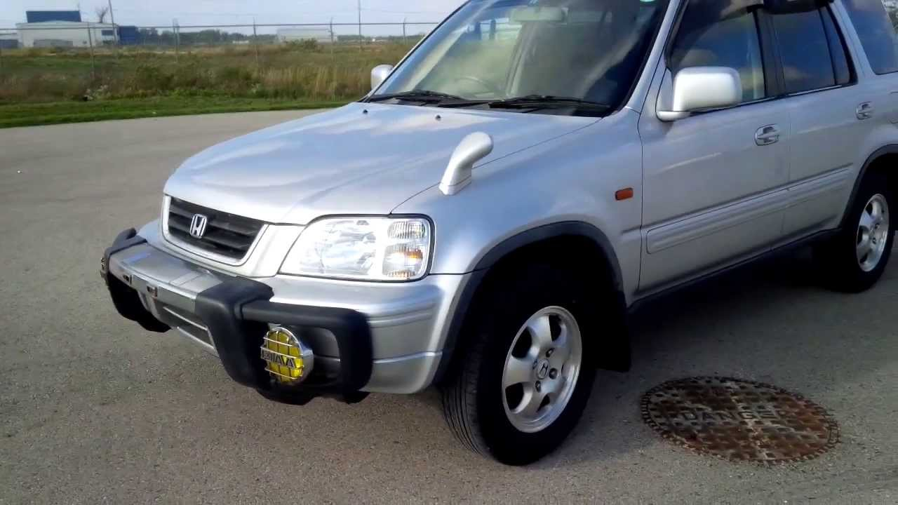 1998 rd1 jdm honda cr v for mail delivery youtube