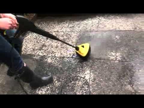 waschbetonplatten reinigen youtube