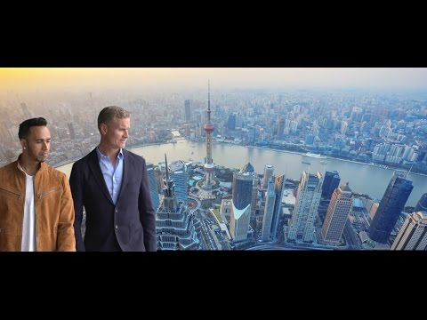 Lewis Hamilton & David Coulthard in Shanghai - Chinese GP 2015