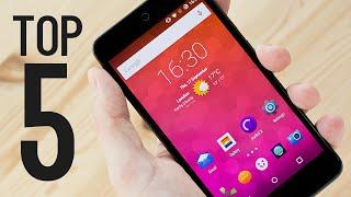 Top 5 BEST Budget Smartphones! (2016/2017)