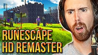 Asmongold Reacts To Old School Runescape Remastered (OSRS HD) | By TheLazyPeon