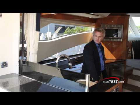 www.boattest.com for more information on the 4100 SF and other Hydra-Sports ...