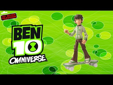 Ben 10 Omniverse Ben In Hoodie Action Figure Toy Review Unboxing. Bandai