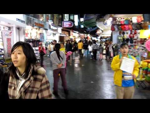 Outside Shilin Night Market