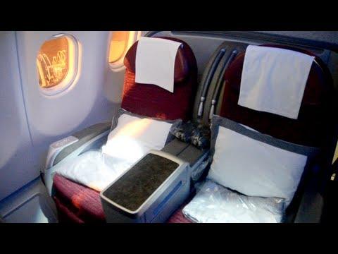 Qatar Airways Airbus A330 Business Class Youtube