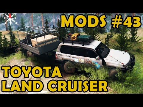 Spin Tires Mod Review #43 - Toyota Land Cruiser