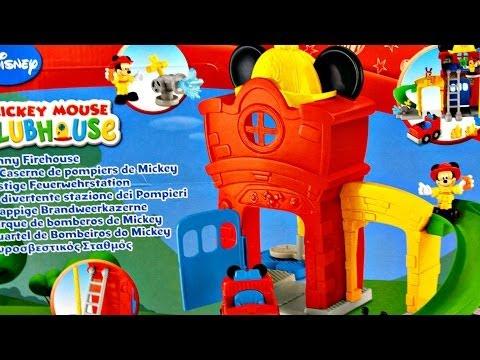 Funny Firehouse / Zabawna Straż Pożarna - Mickey Mouse - Disney Clubhouse - Fisher-Price
