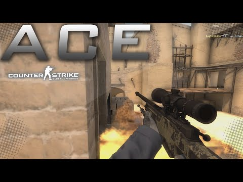 Hungover Ace on Mirage - AWP
