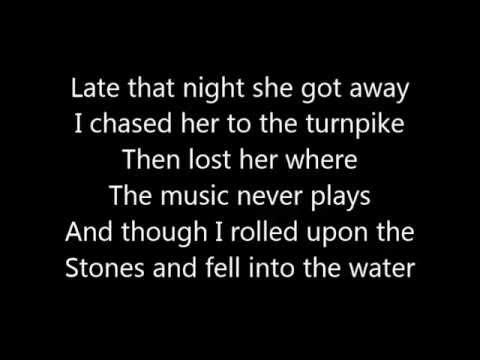 Train - Angel In Blue Jeans (lyrics) video