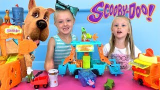 Opening Scooby Doo Toys! New Mystery Machine!! (Full Set)