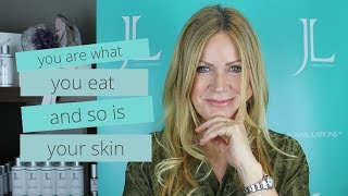 You are what you EAT and so is your SKIN 🌶🥥🥬🐟   DIET TIPS FOR HEALTHY SKIN