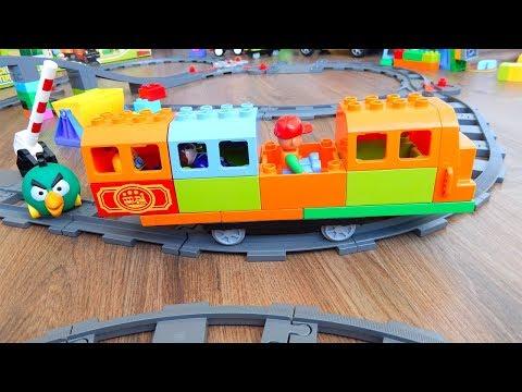 Поезда Мультики про Паровозики Вагон Длинный Город машинок 270 серия Мультики для детей про игрушки